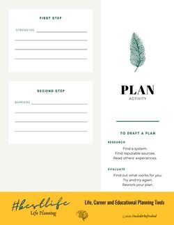 NEW #Bestlife Planning Activity
