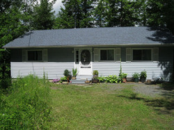 house after shingling