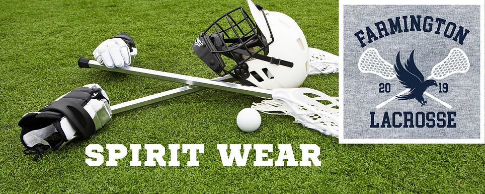Farmington Lacrosse Spirit Wear header.p