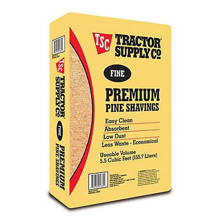 Fine Premium Pine Shavings, Covers 5.5 cu. ft., 500F