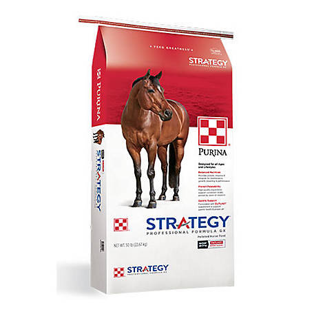 Purina Strategy Professional Formula GX Horse Feed 50 lb