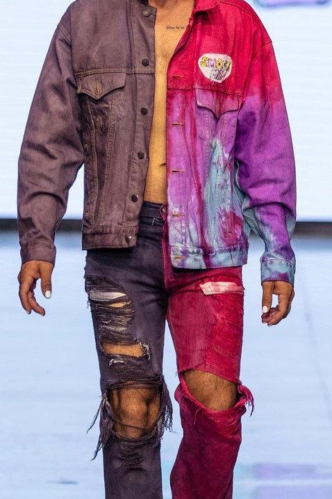 Multi Colored Smock Me Jacket
