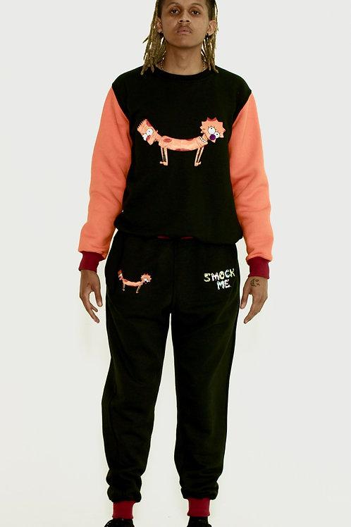 Bart Lisa Cat-Dog Sweatpants