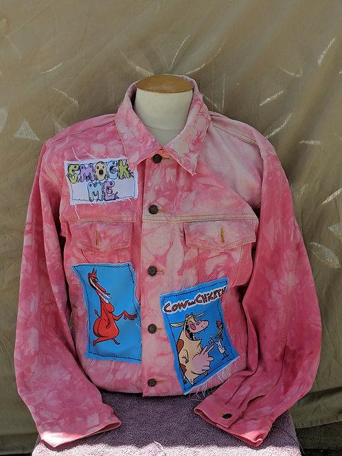 Smock Me Custom Cow & Chicken Jacket