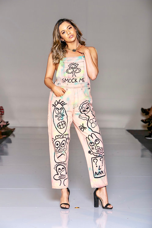 Smock Me Painted Overalls