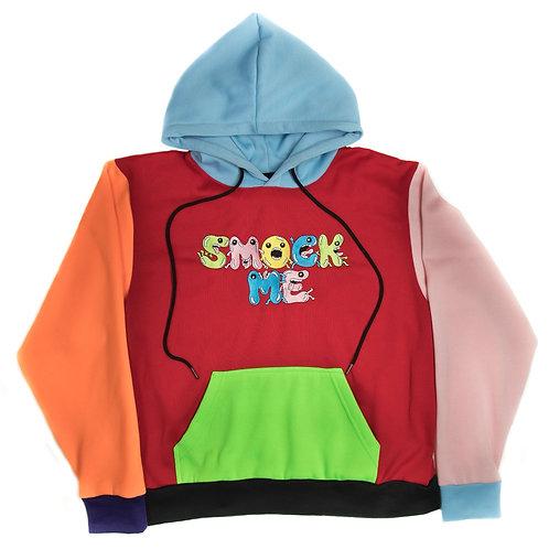 Multi Color Smock Me Hoodie