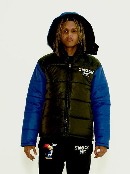 Blue Smock Me Puffer Jacket