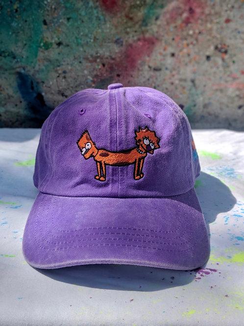 Purple Bart-Lisa Dog Hat