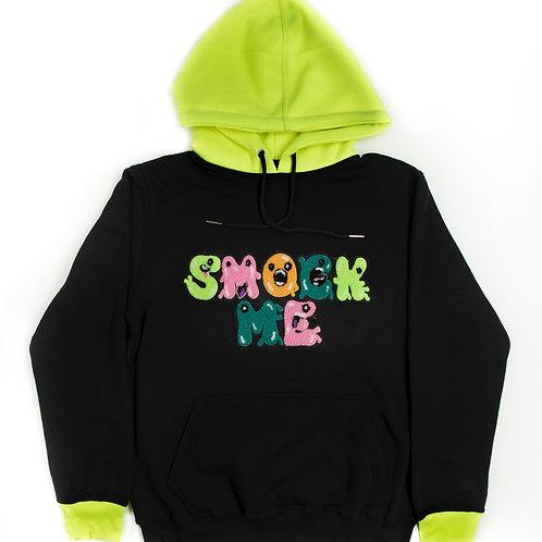 Neon Green & Black Hoodie