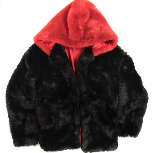 Vegan Mink Fur Jacket