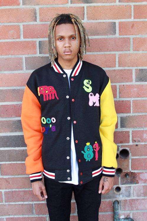 Smock Me Varsity Jacket