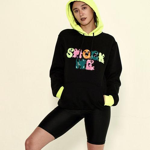 Neon Smock Me Hoodie