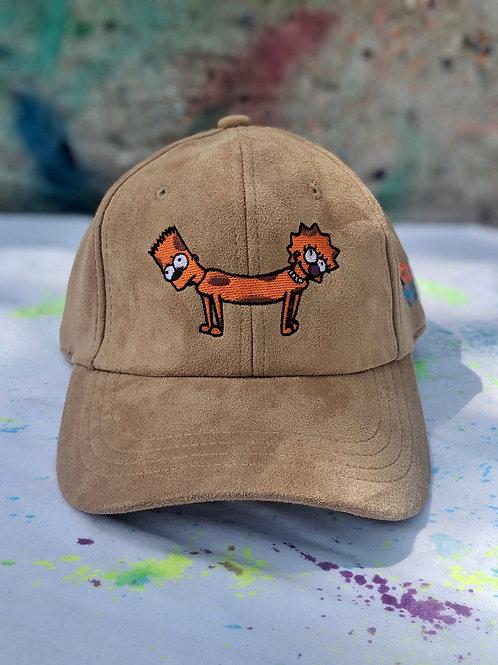 Khaki Bart-Lisa Dog Hat