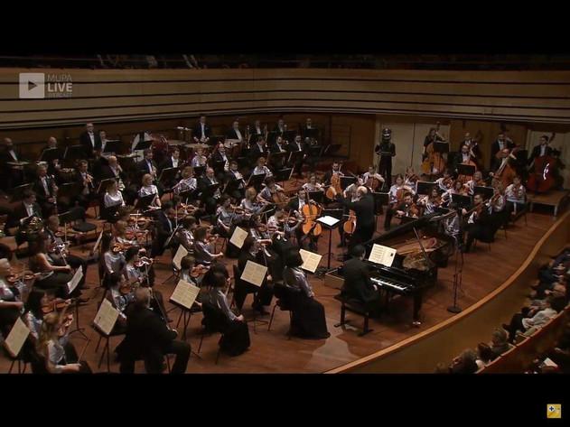 Ravel Concerto for left hand