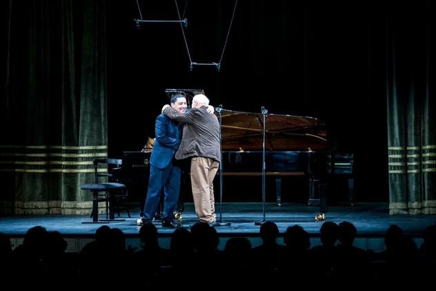 with Zoltán Jeney composer