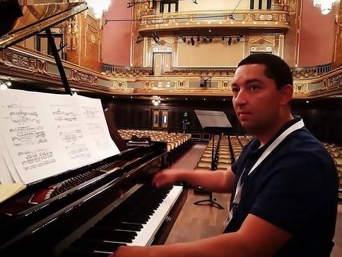 In Liszt Academy Budapest