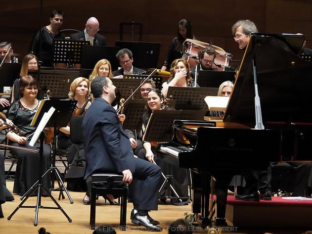 with Maestro Gerard Korsten