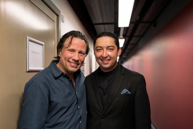 with Maestro Kristjan Jarvi