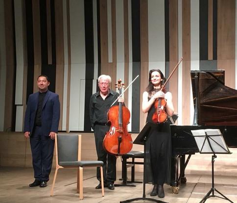with Virginie Robilliard and Péter Szabó