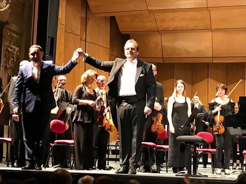 with Maestro György Győriványi Ráth