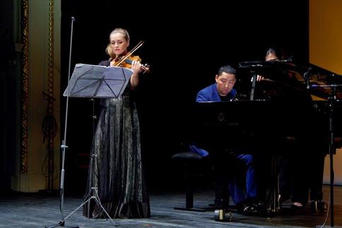 with Katalin Kokas-Festival Academy Budapest