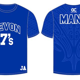Devon Intermediate 7's Playing Jersey