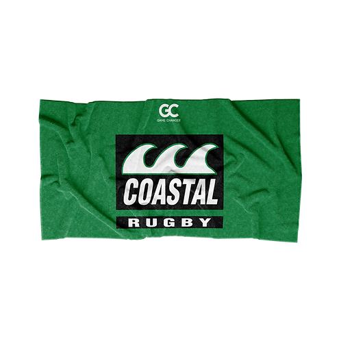 Coastal Rugby Supporters Beach Towel