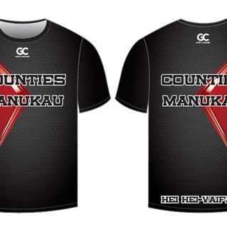 Counties Manukau Mixed Tee