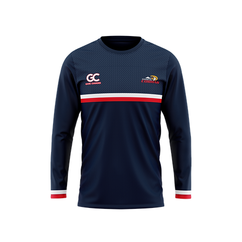Coastal Cobras Adults Supporters L/S Tee