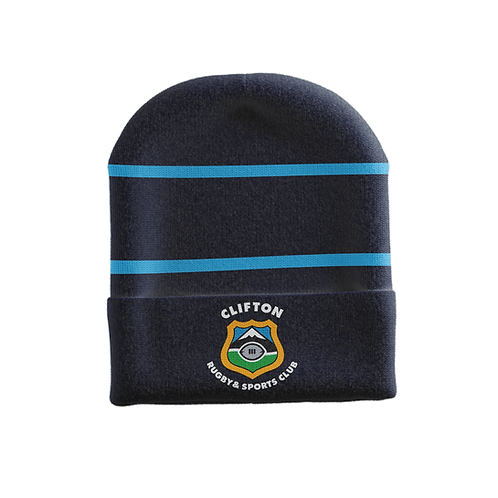 Clifton Rugby Supporters Beanie