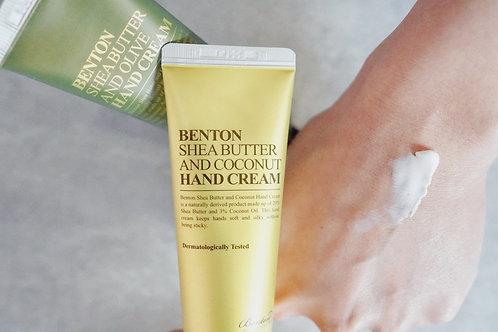 Benton Shea Butter Hand Cream - Coconut