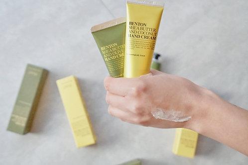 Benton Shea Butter Hand Cream - Olive