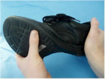 Twist between forefoot and rearfoot