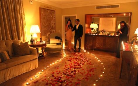 saint valentin - Chemin romantique
