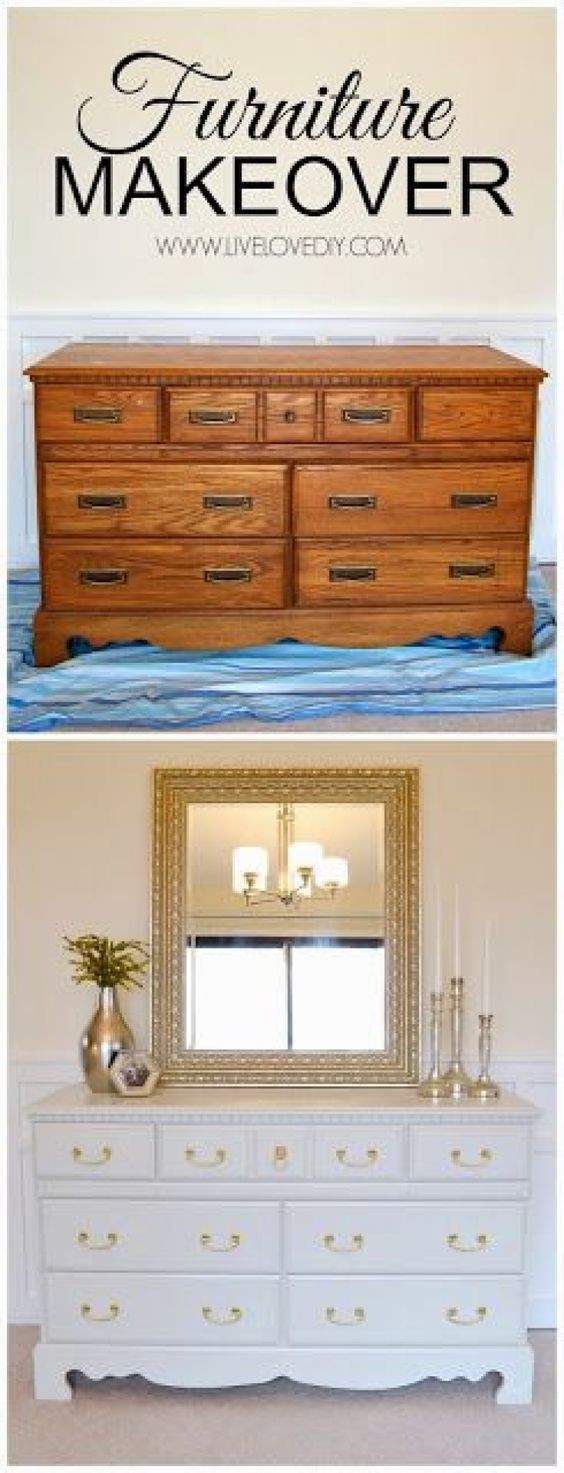 DIY - Relooker vos meubles anciens!