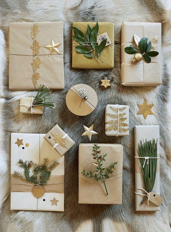 Pour emballer vos cadeaux il vous faut...