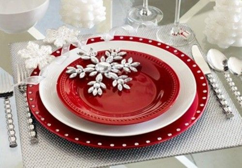 Pour une belle table de Noël, il vous faut...