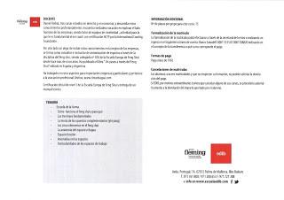 Primera vez en Mallorca certificación nivel I Escuela Europea Feng Shui