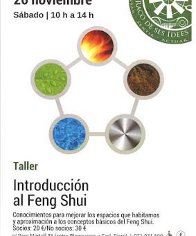 Taller Feng Shui 26 de Noviembre
