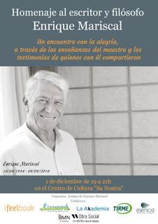 Homenaje al amigo Enrique Mariscal