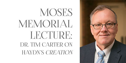 Moses Memorial Lecture