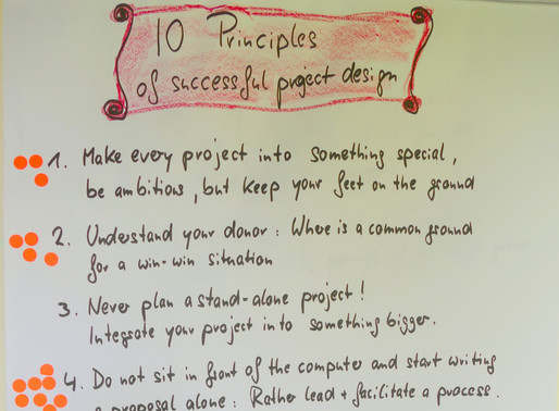 10 principles of successful project development
