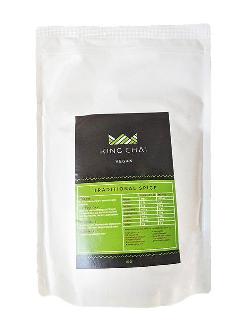 King Vegan Traditional Spice Chai 1 Kg