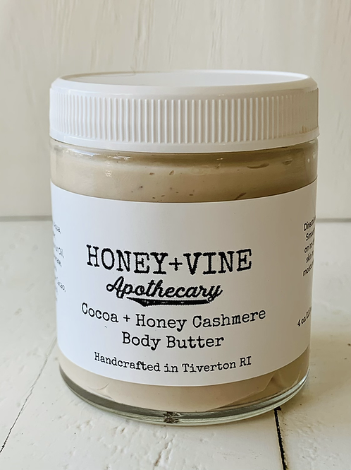 Cocoa + Honey Cashmere Body Butter