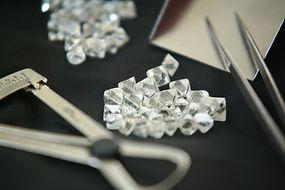 Diamonds Inventory stock