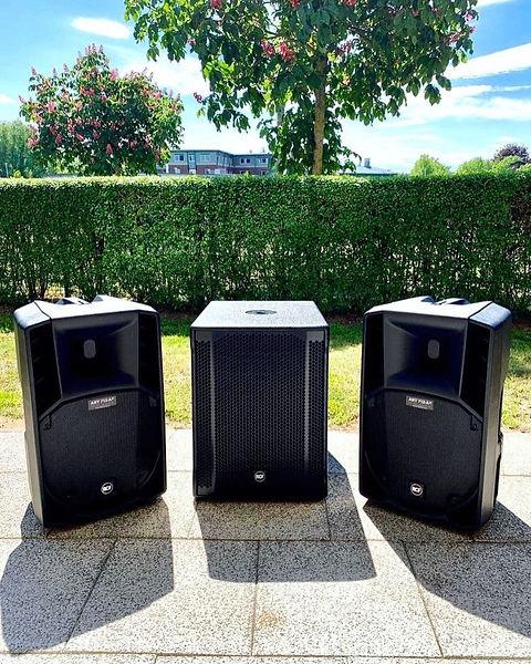 Boxen DJ Hochzeit  balje freiburg elbe H