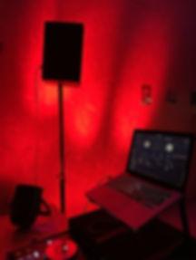 Lightshow von DJ Ollo Stade