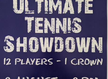 Ultimate Tennis Showdown am 2. August