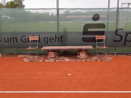 Ab Montag den 11. Mai dürfen wir Tennis spielen