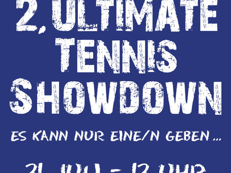 UPDATE: 2. Ultimate Tennis Showdown am 11. September 2021 ab 13.00 Uhr